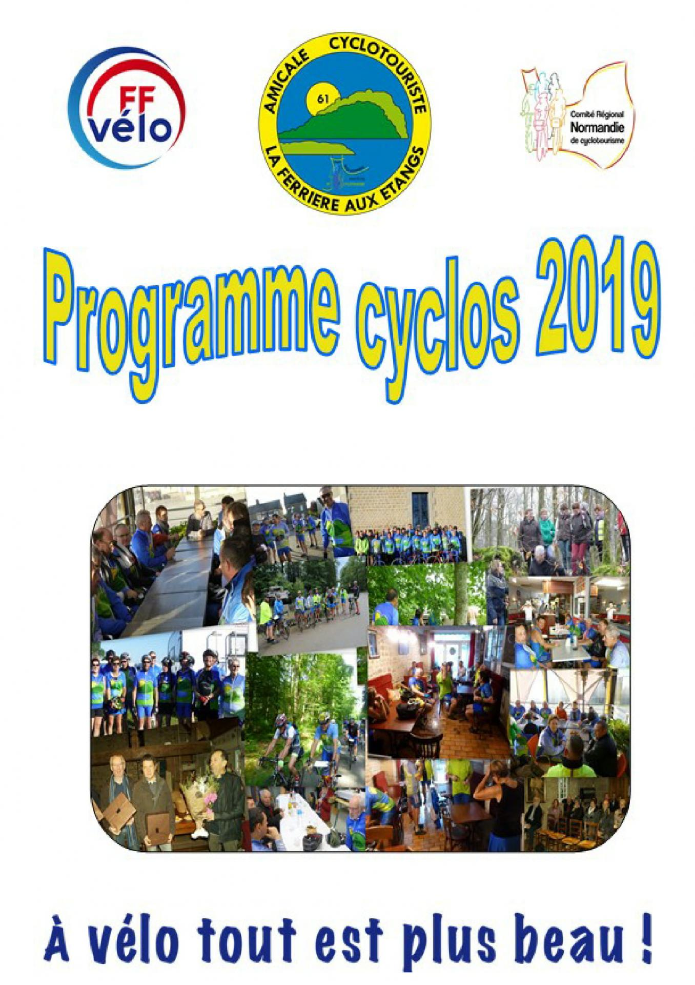Programme cyclo 2019 page 1
